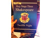 Excellent condition Shakespeare Twelfth Night textbook
