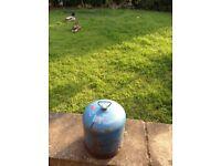 Camping gaz bottle empty