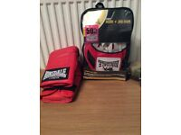 Boxing gloves & jab pads