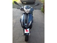 Piaggio Fly 125cc, 63 plate, midnight blue, excellent condition, owned from new, hardly used,