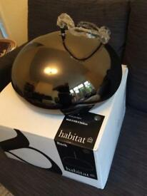 Habitat new in box rock ceiling lamp