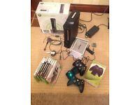 XBox 360 Elite Bundle including 8 Games