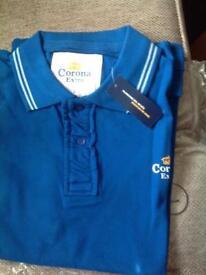 Mens corona Extra polo shirt