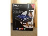 Gtech cordless electronic sweeper - New in box