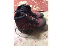 Ladies Salomon walking boots