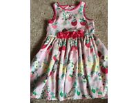 Marks and spencer girls summer dress age 5-6 years old