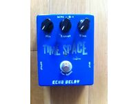 Echo/Delay Pedal - Caline CP-17. True By-pass. Mint condition.