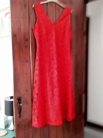 Red Lace dress size 12