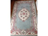 100% wool rug made in India