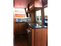 Campervan - converted Vauxhall Movano