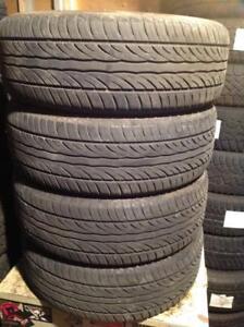 4 pneus d'été 205/60 r16 sailun atrezzo.  135$