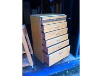 Large set of bedroom drawers in good sturdy condition