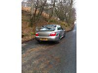 Subaru Impreza sti wide track