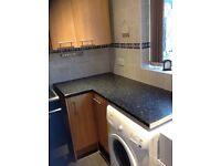 Kitchen work tops and sink