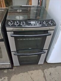 black silver gas cooker....free delivery
