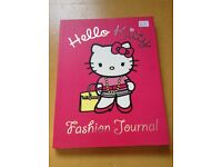 hello kitty fashion journal book