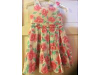 Girls summer dress and play suit bundle age 6