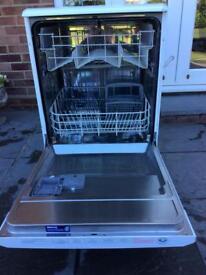 Beko free standing dishwasher