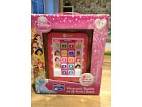 Disney Princess electronic reader X 8