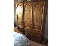 Pinewood bedroom furniture