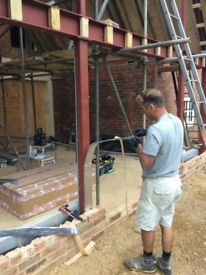 Supply & Fitting Service for Builders Beams Steel / RSJ / I-Beam / Universal LOW COST