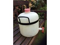 Water storage 15litres poly container.