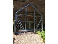 Greenhouse 6x8 and base