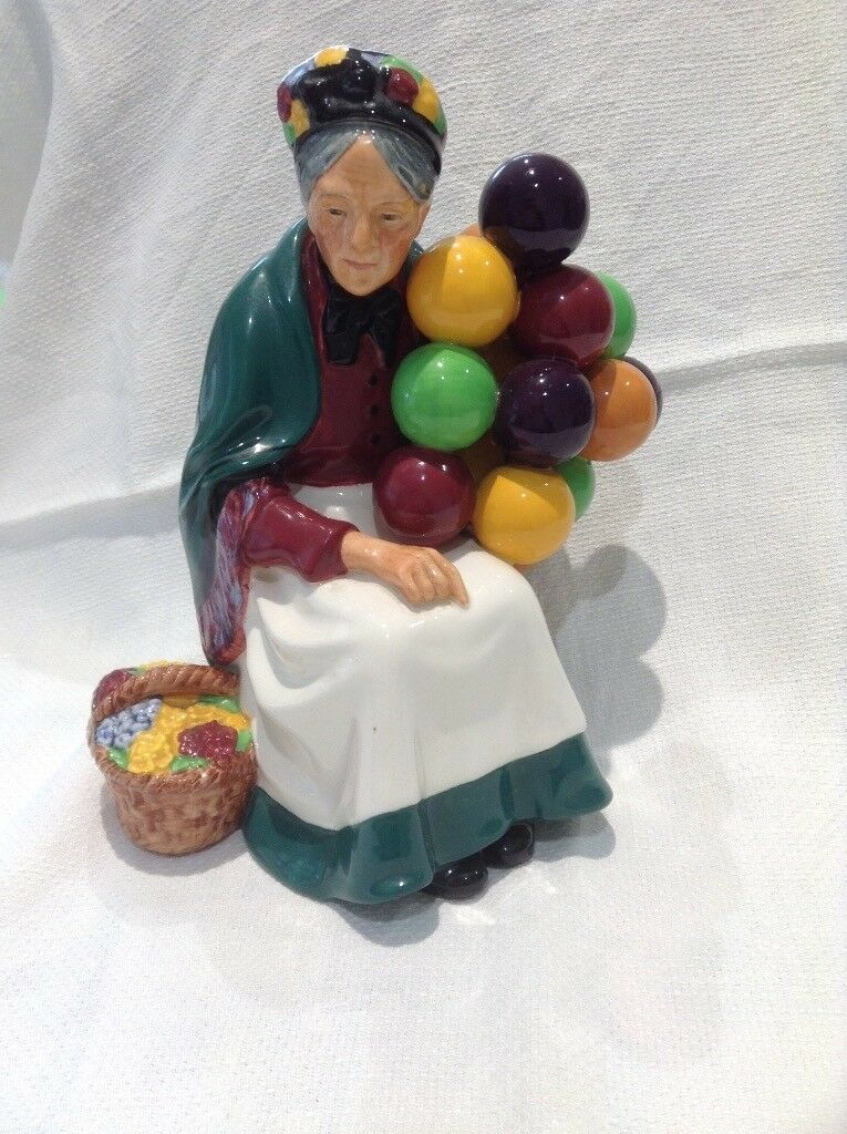 Royal Doulton -old balloon seller - approx 60 years old