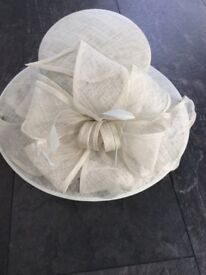 Hat , colour aqua, suitable mother of the bride/groom. From Hat Box at Debenhams new with labels £8