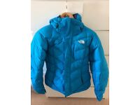 North face ski jacket perfect condition goose down size small