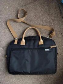 Black Computer Bag/ Shoulder Bag
