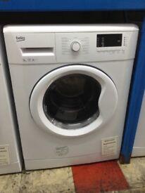 Beko 9kg 1200spin washing machine. White A+++. £210 new/graded 12 month Gtee