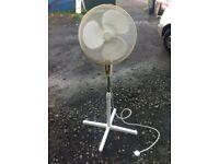 Tefal floor standing height adjustable fan