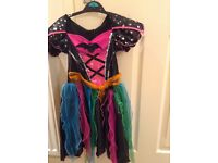 Girls Halloween witches dress