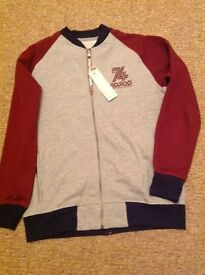 BRAND NEW MENS RIPSTOP ZIP UP TOP - Size L