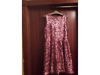 Marks and Spencer party dress pink immaculate condition