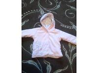 M&S Baby girl coat