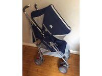 Maclaren Techno XT blue/silver pushchair