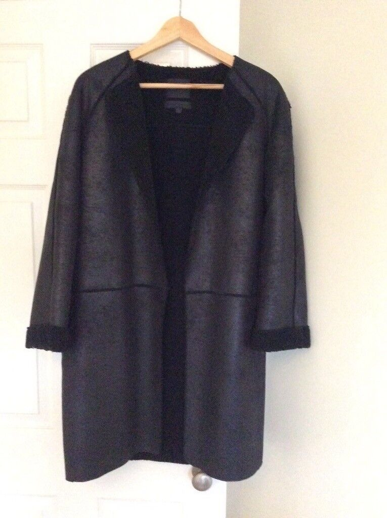 Genuine leather coat for sale