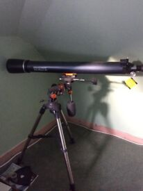 Brand new, unused Celestron Astromaster 90 telescope. £100