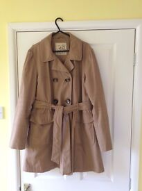 Ladies beige smart jacket - size 16