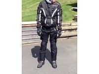 childs motorbike jacket and trousers (Buffalo)