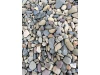 20 mm riverbed garden and driveway chips/ gravel/ stones