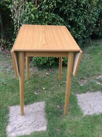 Vintage Formica Kitchen Table with Flaps