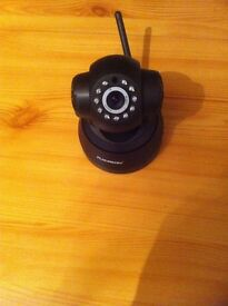 floureon black wireless cctv camera