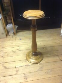 Pretty wooden plant stand