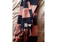 Jack Wills knitted scarf