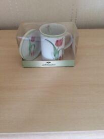 China mug and coaster