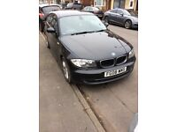 BMW 118D SE 2008 3 door Black £30 road tax swap or sell !!!!!!!