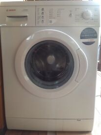 Bosch Slimline Washing Machine for sale. Virtually new only done 30 washes.